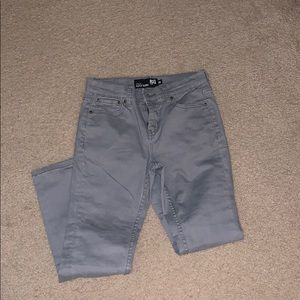 Boys gray super skinny jeans NWOT